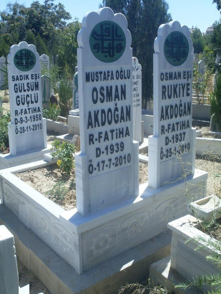 Çift Kişilik Mezarlar